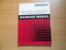 manuale officina Servizio diagnosi Manuale Toyota Supra 7M-GE Motore - DM009E