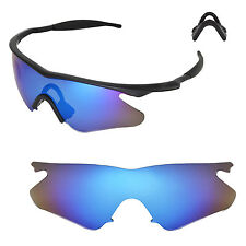 New Walleva Ice Blue Replacement Lenses For Oakley M Frame Heater Sunglasses