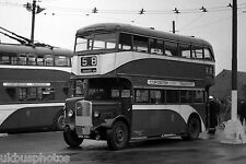 Kingston Upon Hull City Transport No.199 Holderness Road Depot yard Bus Photo A