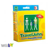 Travel John Resealable Disposable Unisex Urinal