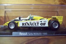 1/43 RBA 1980 RENAULT TURBO RE20/23 RENE ARNOUX