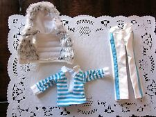Vintage Barbie 3 piece Casual Ski Outfit Clothing No Doll