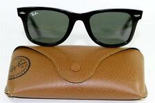 New Genuine Ray Ban 2140 901 Wayfarer Classic Black Sunglasses 50mm