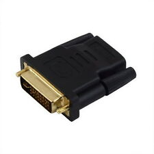 DVI Male to HDMI Female adapter Gold-Plated NEW M F Converter For HDTV LCD OB