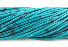 Synthetic Turquoise Heishi Beads (2 - 3 mm , 24 Inches Strand)