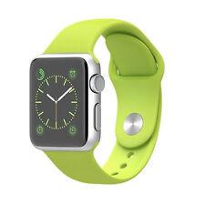 Apple watch sport 38mm coque en aluminium vert sport band