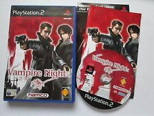 Vampire Night For Sony Playstation 2 / PS2 Game Complete 2002 PAL Namco Shooter