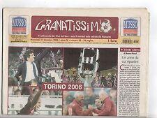 rivista GRANATISSIMO IL SETTIMANALE DEI TIFOSI DEL TORO 27/12/2006 NUMERO 38