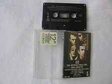 U2 the unforgettable fire cassette Canada 1984 First pressing rare!