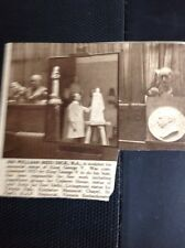 M3-2 Ephemera 1937 Small Picture Sir William Reid Dick R A Sculptor At Work