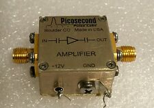 PicoSecond Pulse Labs 5828-107 15 GHz Ultra-Broadband Amplifier 10dB Gain - Used