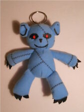 GAY PSYCHO TEDDY BEAR PLUSH TOY KEYCHAIN CELL PHONE ORNAMENT
