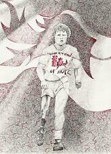 FOX TROT Terry Fox limited art print signed artwork 8.5x11 numbered #40/100