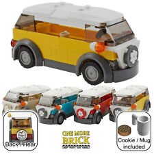 LEGO Camper Van - VW style holiday camper - Yellow (other colours available)