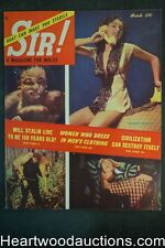 Sir! Mar 1953 Boxing, NJ Deer Hunting, Stalin, Marie Antoinette, Jean Williams -