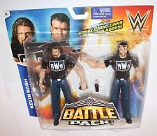WWE Kevin Nash & Scott Hall Battle Packs Mattel Basic 36 Action Figure Wrestling