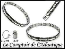 █▬█ █ ▀█▀►BRACELET GOURMETTE HOMME Acier chirurgical harley Chaine moto 4C12