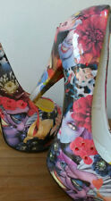 """Disney Villain"" customised decoupage shoes"