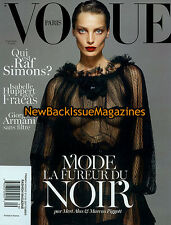 French Vogue 9/12,Daria Werbowy,September 2012,NEW