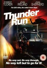 THUNDER RUN Forrest Tucker*John Ireland Cult 1980s Truck Chase Action DVD *EXC*
