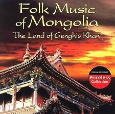 Folk Music of Mongolia: The Land of Genghis Khan by Various Artists (CD,...