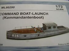 CMK Maritime ML80290 1/72 Resin Kit for German Commander's Boat-Launch