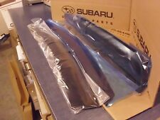 Genuine OEM Subaru Impreza  5 Door Side Window Deflectors 2017  (F0010FL030)