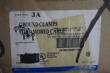 """T+B/BLACKBURN JA BRONZE GROUND CLAMP FOR ARMORED CABLE 1/2"""" - 1"""" PIPE"""