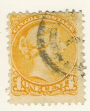 Canada Stamp Scott # 35 1873/79 1-Cent Small Queen Used