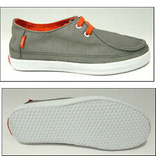 VANS AUTHENTIC RATA VULC GREY SPICY ORANGE SHOES KIDS 1 NEW KARATE SURF SK8
