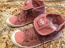 NEW Women's PALLADIUM Flex Baggy Old Rose Pink Marshmallow Boots Size 7 M