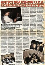 7/11/92PGN16 ARTICLE & PICTURES : LOLLAPALOOZA