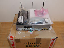 NEW CISCO 1941W-E/K9 Integrated Wireless Services Router + SL-19-SEC-K9 NEU Sons