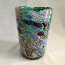 VINTAGE MURANO A.V. e M. VASE -- 1950's with gift.
