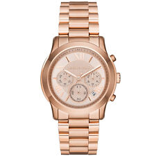 **NEW* LADIES MICHAEL KORS ROSE GOLD MINI BRADSHAW CHRONO MK5799 WATCH