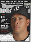 """Sports Illustrated 2/19/09 """"The Lastest and Greatest to Fall"""" Alex Rodriquez NYY"""
