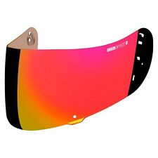 ICON OPTICS MOTORCYCLE AIRMADA HELMET SHIELD VISOR FOG FREE RED CHROME