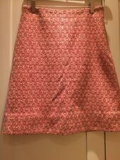 lk bennett Size 8 Wool Skirt Red