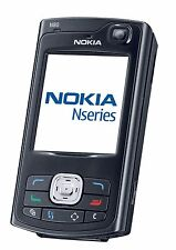 Nokia N Series N80 Black UNLOCKED QUADBAND GSM CELLPHONE,CAMERA,WIFI,BLUETOOTH