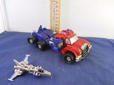 Transformers 2002 Armada Super-Cons Optimus Prime w Over-Run Missing Smokestack