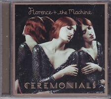 FLORENCE & THE MACHINE - CEREMONIALS - CD - NEW -