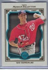 2013 TOPPS MUSEUM COLLECTION TEAL #49 GIO GONZALEZ #38/50