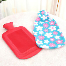 Natural Rubber Hot Water Bottle Bag Warmer Large/Small Random Anti-cold 1pc