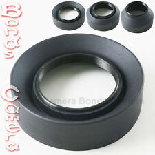 58mm 58 mm 3-Stage Rubber Foldable Lens Hood for Canon Nikon Sigma Sony camera