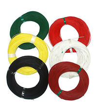 6 roll 200m φ 1mm Silicon Fiber Glass Insulated Tube Sleeving UL 1500V VW-1 180℃