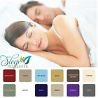 1800 SERIES DEEP POCKET 4 PIECE BED SHEET SET - Sleep Refresher - 12 COLORS New