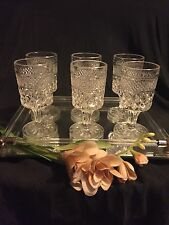 Vyg. Wexford 6 pc set Wine/Juice Glasses 4 1/2 inch