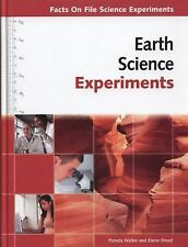 Earth Science Experiments (Facts on File Science Experiments)-ExLibrary