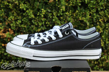 CONVERSE ALL STAR CHUCK TAYLOR CTAS PRO OX SZ 8 BLACK 144578C