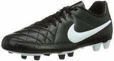 NIKE TOTAL RIO II FG BLACK WHITE MENS FOOTBALL BOOTS US 15 **FREE POST AUSTRALIA